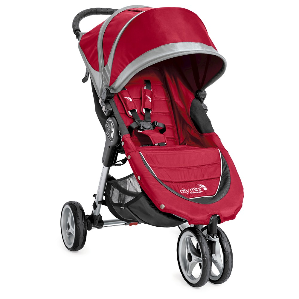 Baby Jogger City Mini Single Stroller - Crimson (Red)