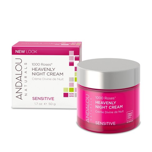 Andalou Naturals 1000 Roses Heavenly Night Cream - 1.7 Oz - image 1 of 1