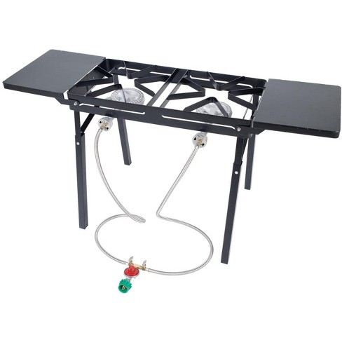 Bayou Classic  Black Outdoor Stove With Dual Low Pressure Gas Burners DB375 - image 1 of 1