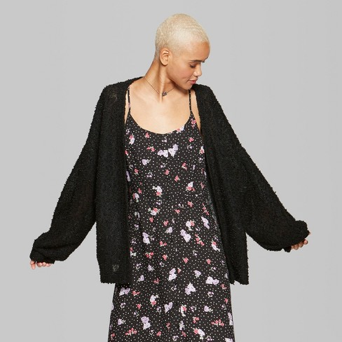 af089508e8 Women s Textured Cardigan - Wild Fable™   Target