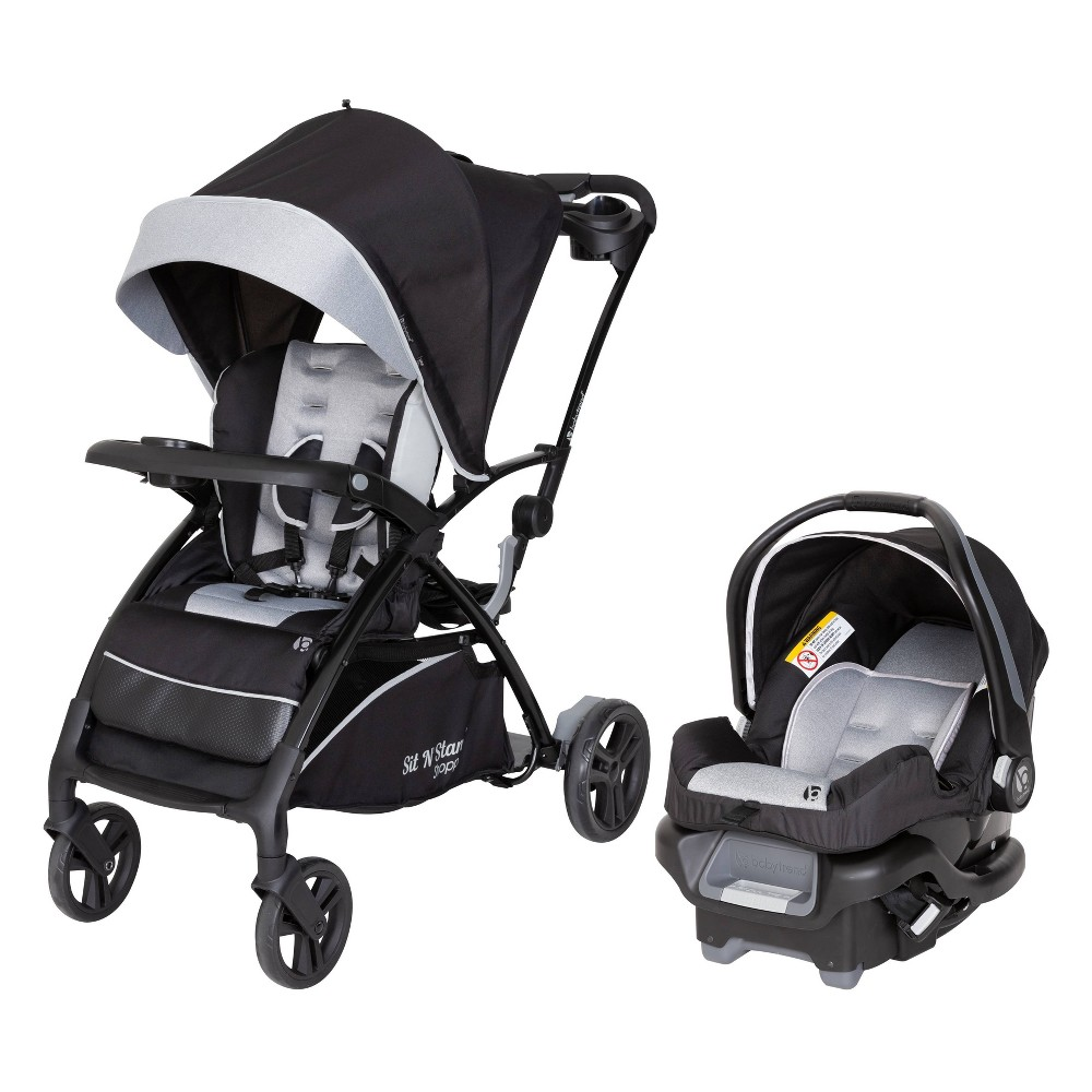 Baby Trend Sit N Stand 5-in-1 Shopper Stroller Travel System - Moondust
