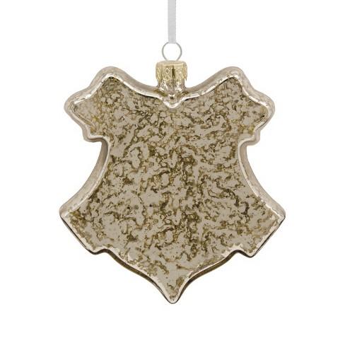 Hallmark Harry Potter Hogwarts Houses Glass Shield Christmas Ornament Target