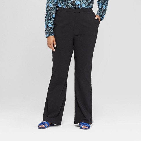 7a123d0a7 Women's Plus Size Classic Bootcut Trousers - Who What Wear™ Black 22W :  Target