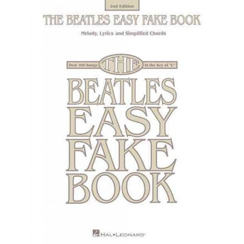 Beatles Easy Fake Book Melody Lyrics And Simplified Chords