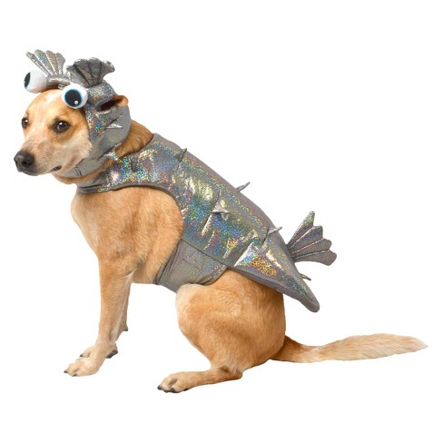 Puffer Fish Dog Costume Set - Gray - Boots & Barkley™ - image 1 of 1