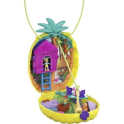 Polly Pocket Tropicool Pineapple Purse Compact Playset