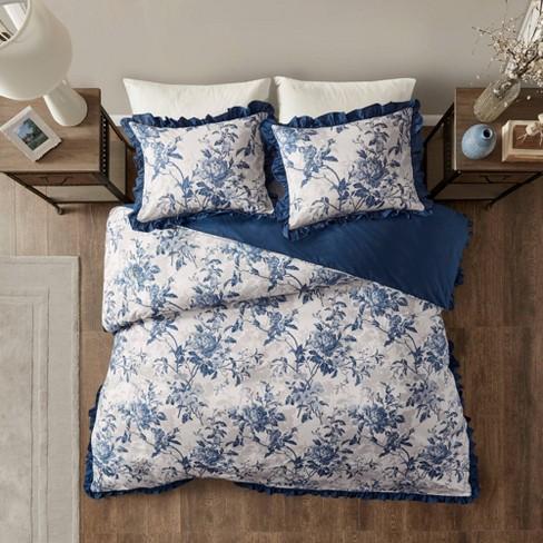 Aimatia Cotton Printed Ruffle Duvet Cover Set - image 1 of 4