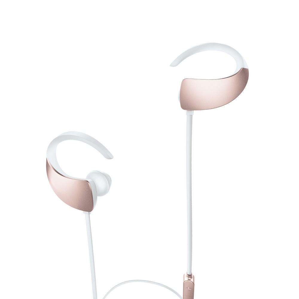 Sharper Image Sport Fit Wireless Earbuds - Rose Gold (SBT552RG)