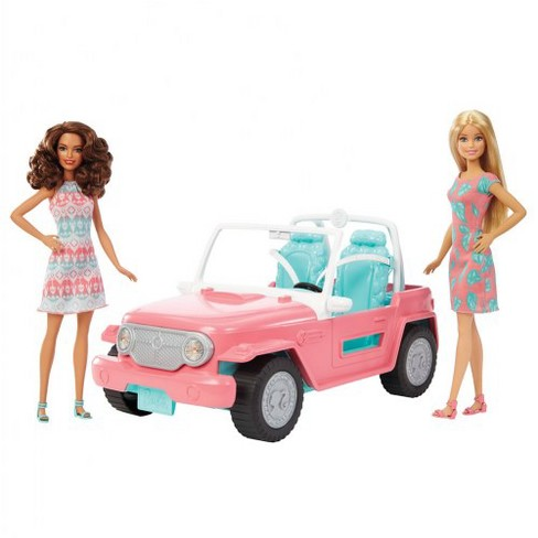 Mattel Barbie Dolls and Fab Life Off-Road Vehicle Playset - image 1 of 2