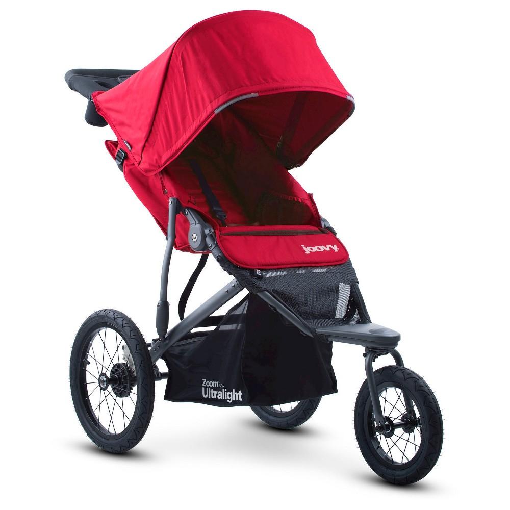 Joovy Zoom 360 Ultralight Jogging Stroller - Red
