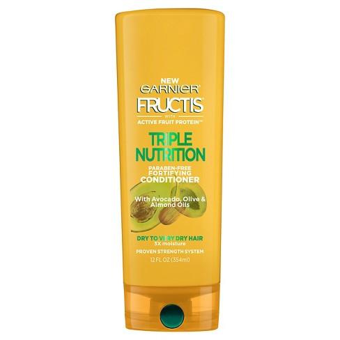Garnier Fructis Triple Nutrition Fortifying Conditioner - 12 fl oz - image 1 of 2