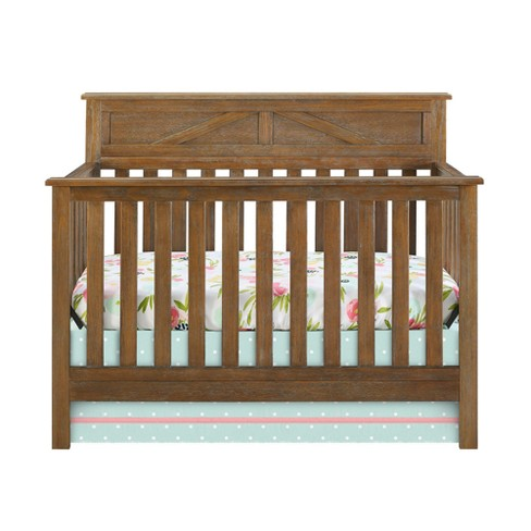Baby Relax Hathaway 5 In 1 Convertible Crib Rustic Coffee Target