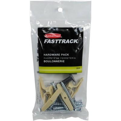 Rubbermaid FastTrack Garage Storage Rail Hardware Pack