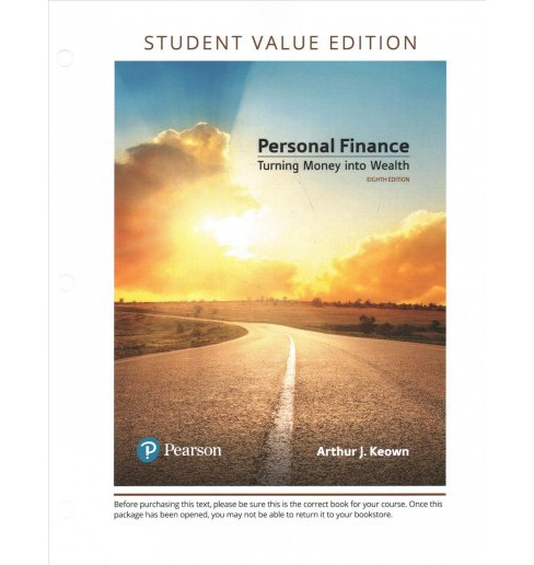 Personal Finance : Turning Money Into Wealth -  by Arthur J. Keown (Paperback) - image 1 of 1