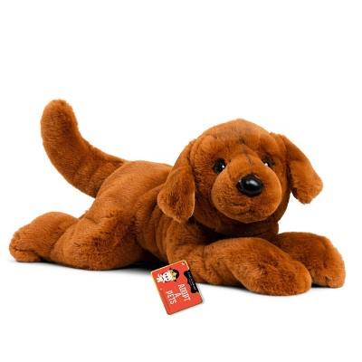 "FAO Schwarz Adopt-A-Pets Golden Retriever 22"" Stuffed Animal with Adoption Certificate"