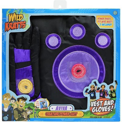Jazwares Wild Kratts Creature Power Suit - Aviva, One size fits most: 4-6X
