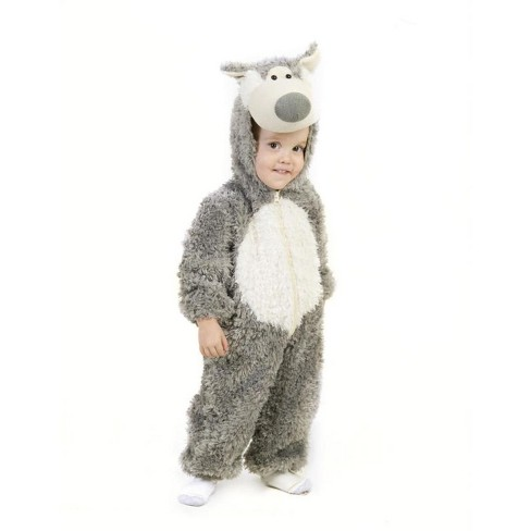 Toddler Little Wolf Halloween Costume 18M-2T - image 1 of 1