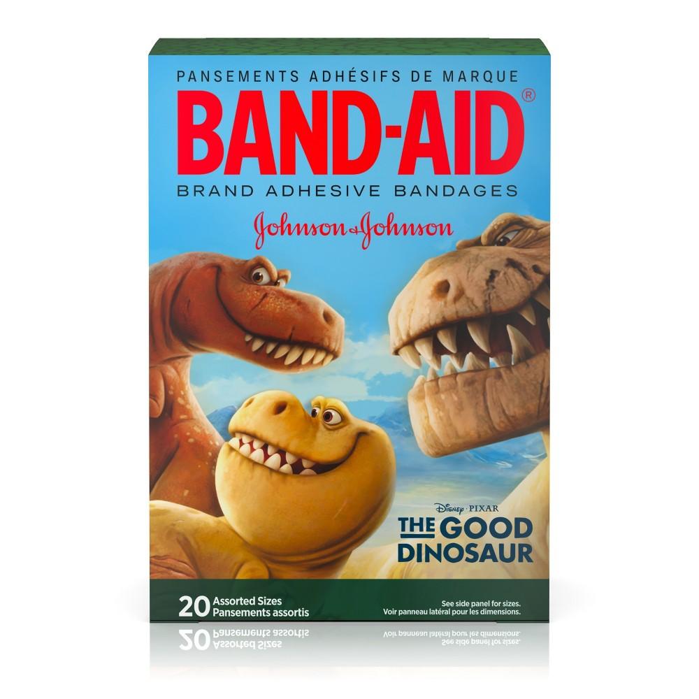 Band-Aid The Good Dinosaur Adhesive Bandages - 20ct