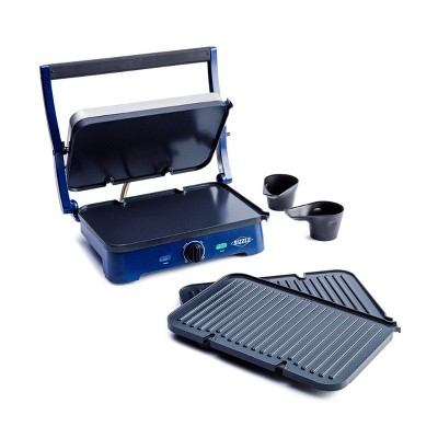 Blue Diamond Sizzle Griddle with Grill Plates