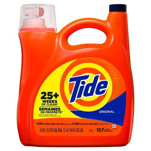 Tide Non HE Original Scent Liquid Laundry Detergent - 154 fl oz - image 1 of 3