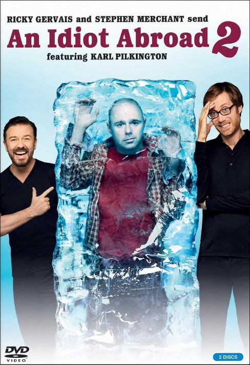 Idiot abroad:Season two (DVD) - image 1 of 1
