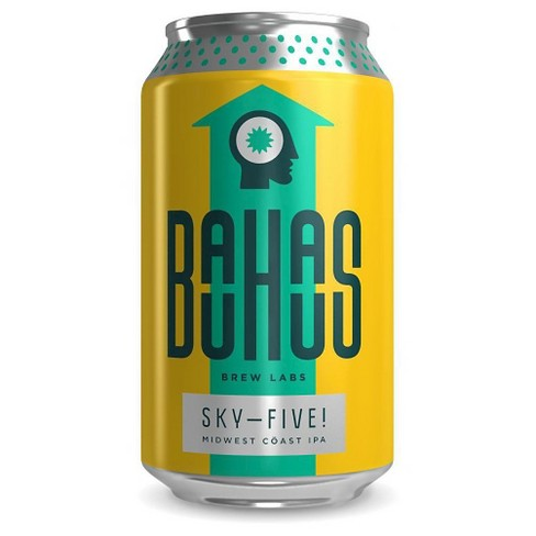 Bauhaus Sky-Five Midwest Coast IPA Beer - 12pk/12 fl oz Cans - image 1 of 1