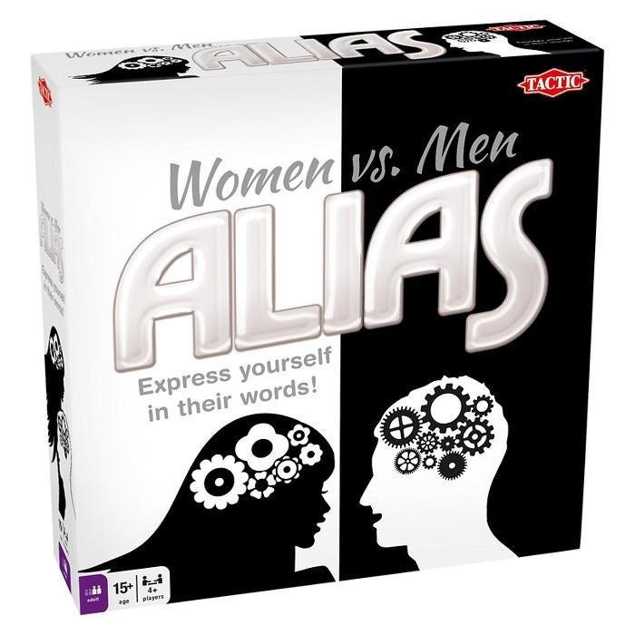 Tactic Women Vs Men Alias Board Game : Target