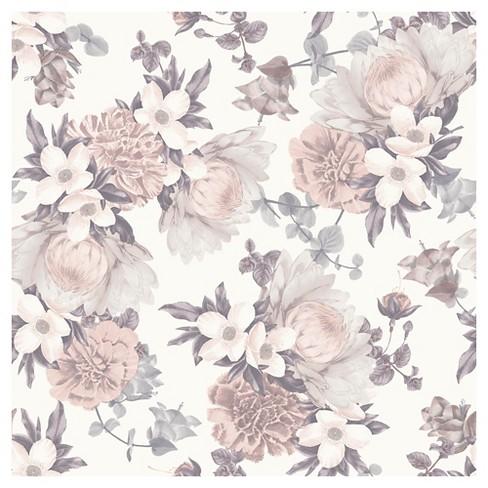 Tempaper Botanical Blossom Removable Wallpaper - image 1 of 4