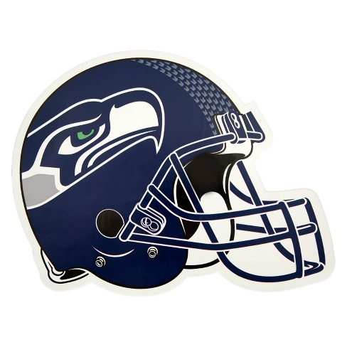 NFL Seattle Seahawks Small Outdoor Helmet Decal   Target f555dd966