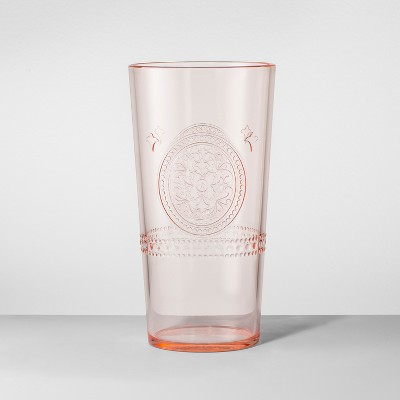 Plastic Tumbler 22oz Orange - Opalhouse™