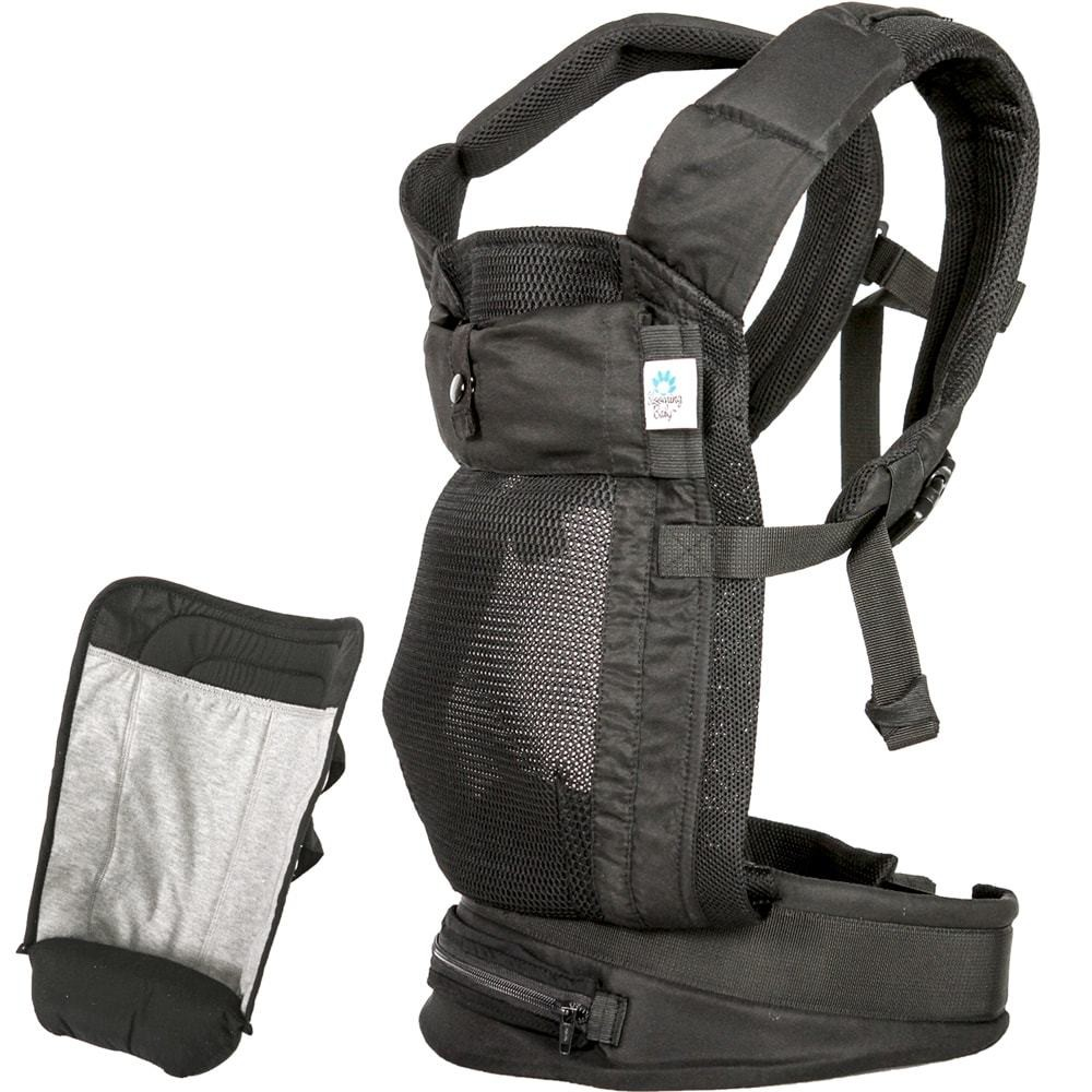 Blooming Baby AirPod Baby Carrier with Insert - Black