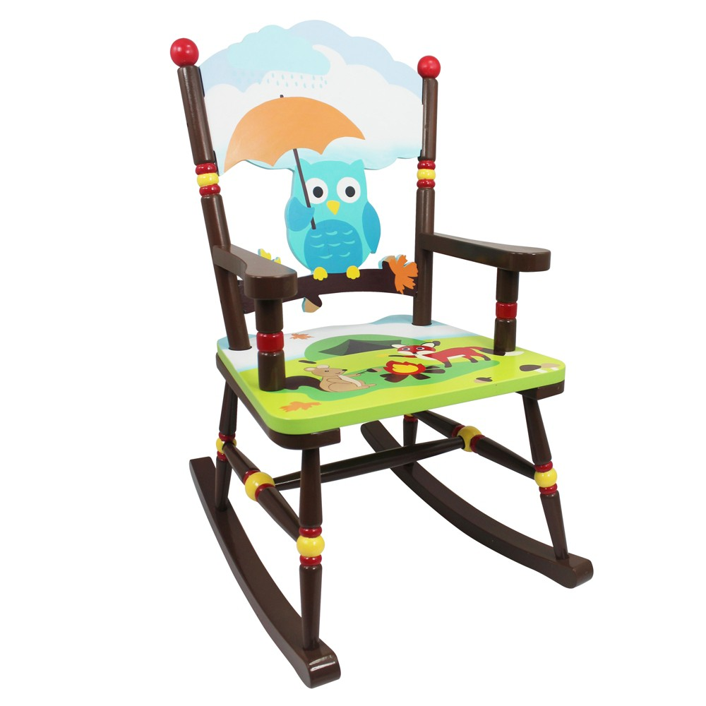 Enchanted Woodland Rocking Chair Wood - Teamson