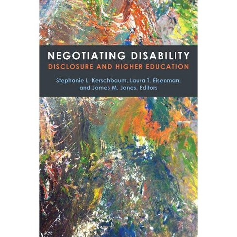 Negotiating Disability - (Corporealities: Discourses of Disability) (Paperback) - image 1 of 1