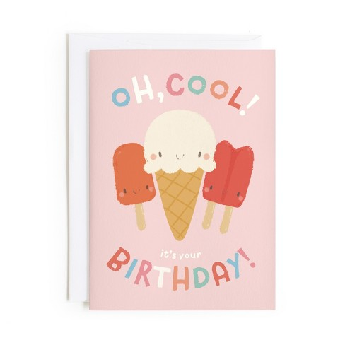 Minted Cool Birthday Card Target