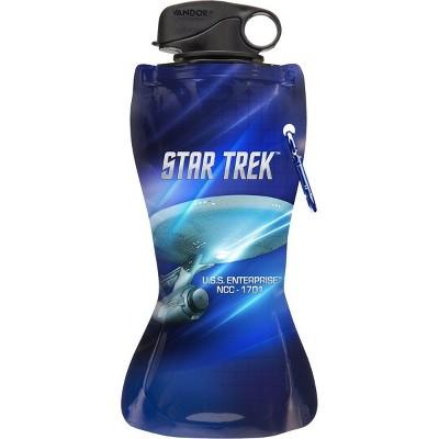 Vandor Star Trek Collapsible 24oz Water Bottle