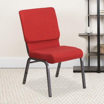 """Emma and Oliver 18.5""""W Stackable Church/Reception Guest Chair"""