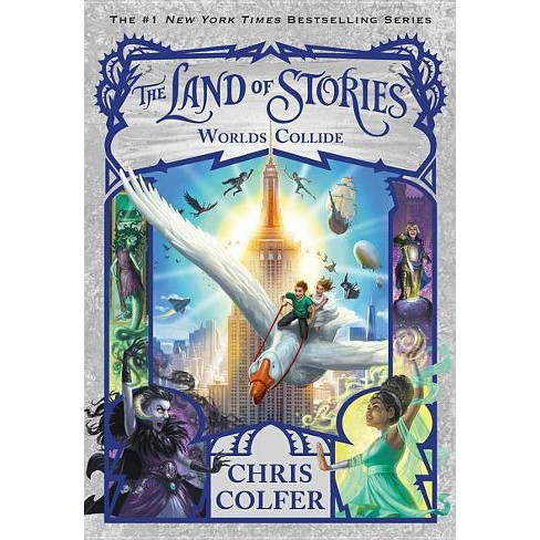 Worlds Collide -  Reprint (Land of Stories) by Chris Colfer (Paperback) - image 1 of 1