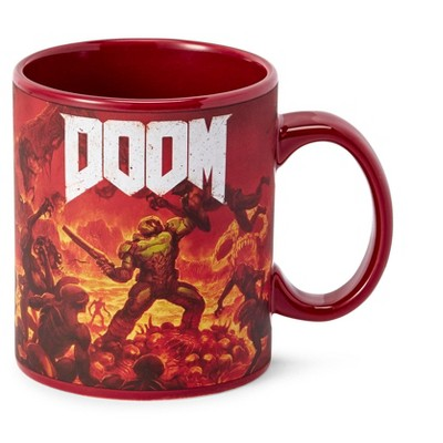 Just Funky DOOM Doomslayer 16oz Ceramic Coffee Mug