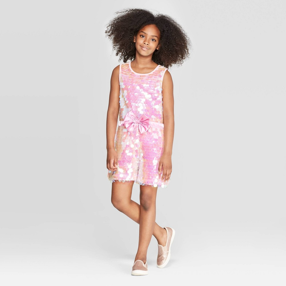 Image of Girls' JoJo's Closet Rompers - Pink XL Plus, Girl's