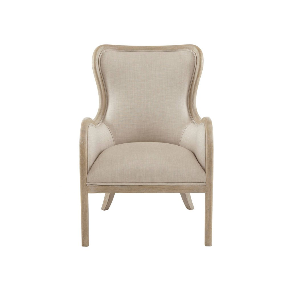 Awe Inspiring Hann Accent Chair Natural Gmtry Best Dining Table And Chair Ideas Images Gmtryco