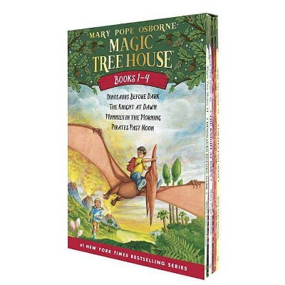 Magic Tree House Boxed Set: Books 1 - 4 (Magic Tree House Series)(Paperback)(Mary Pope Osborne)