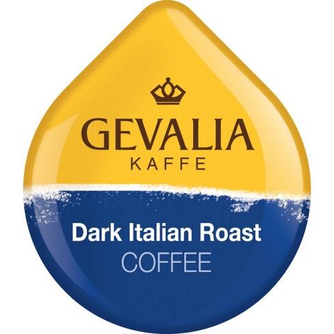 Tassimo Gevalia Kaffe Dark Roast Italian Roast Extra Bold Roast - T-Disc Coffee Pods - 12ct - image 1 of 4