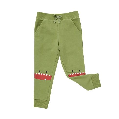 Cubcoats Toddler Dayo the Dinosaur Jogger Sweatpants - image 1 of 4