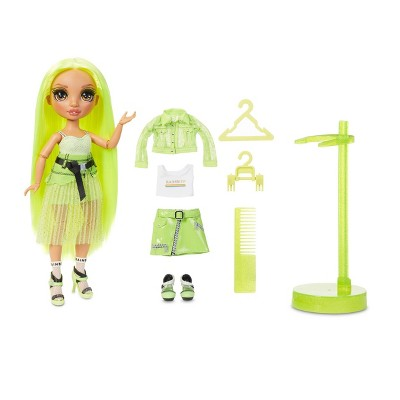 Rainbow HighKarma Nichols –Fashion Dollwith 2 Complete Mix & Match Outfits andDoll Accessories