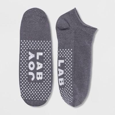 Women's Yoga Barre Socks - JoyLab™ Charcoal Gray 4-10