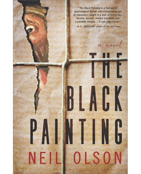 Black Painting -  by Neil Olson (Hardcover) - image 1 of 1