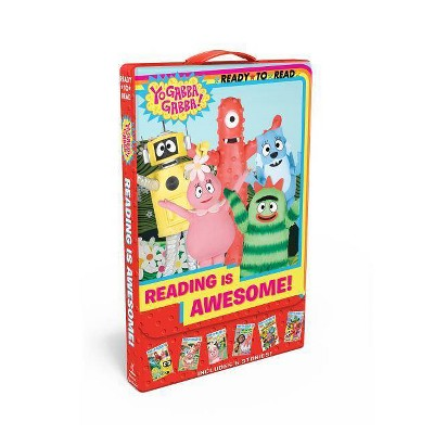 Reading Is Awesome! - (Yo Gabba Gabba!) by  Various (Paperback)