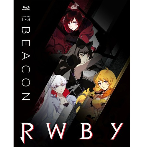 Rwby:Vols 1-3 Beacon (Blu-ray) - image 1 of 1