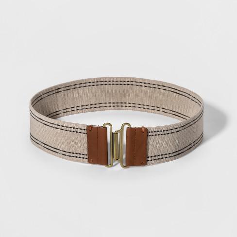 Women's Stretch Belt - Universal Thread™ Khaki
