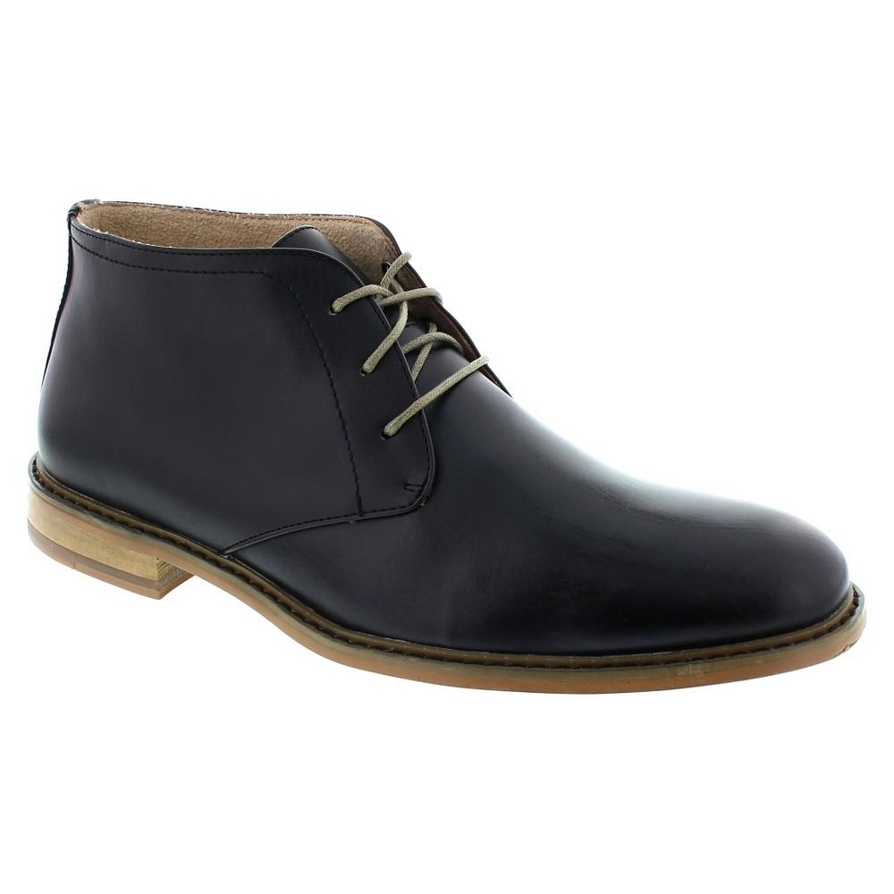 Chukka Boots Deer Stags Sttlsmth Black 10, Men's